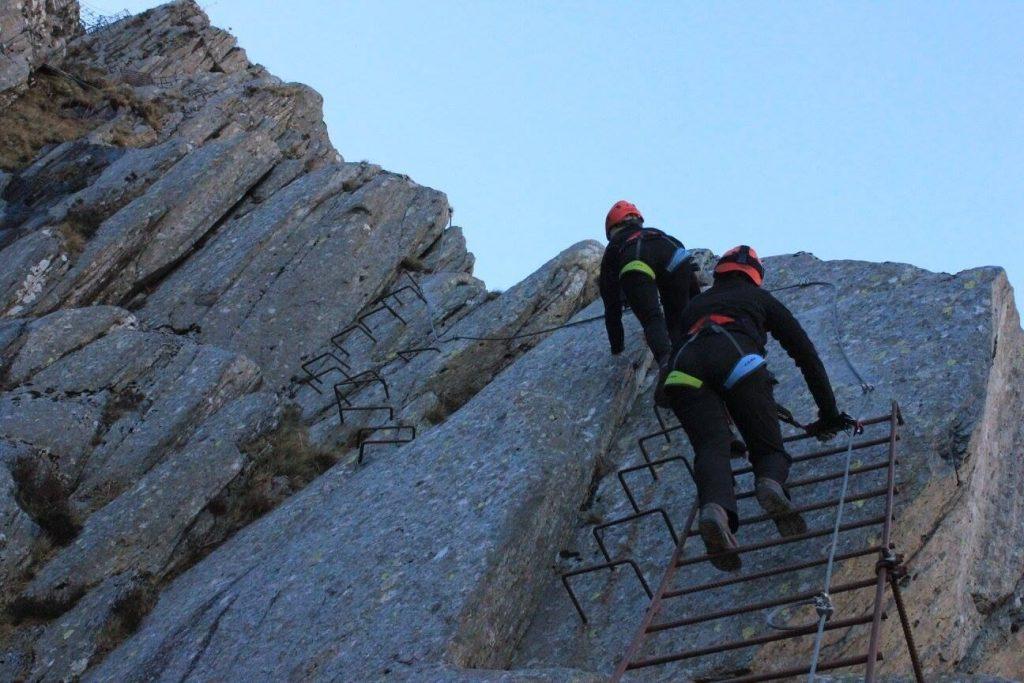 Rock Climbing Honister Slate Mine, Cumbria