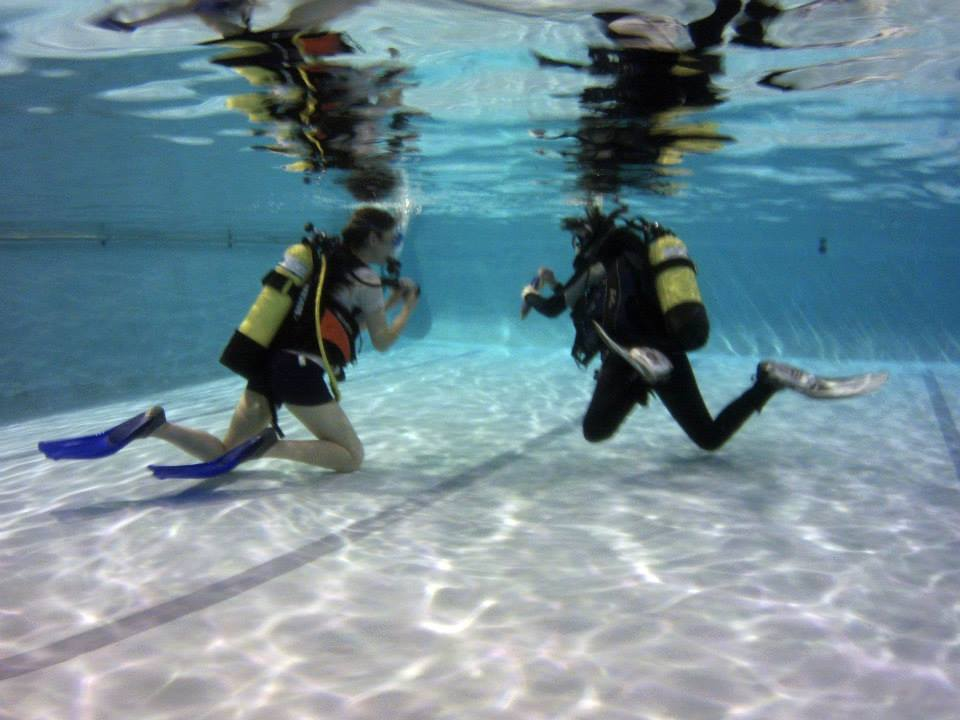 Scuba Diving, Worcester