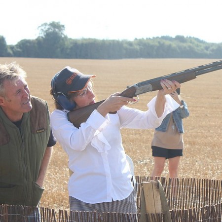 Clay Pigeon Shooting Coldred, Kent