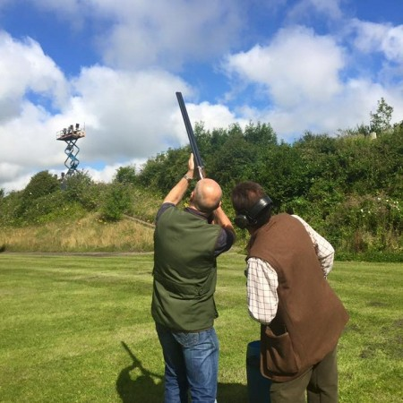 Clay Pigeon Shooting Wells Somerset